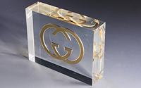 透明内嵌工艺品国际知名品牌GUCCI只选凯力克