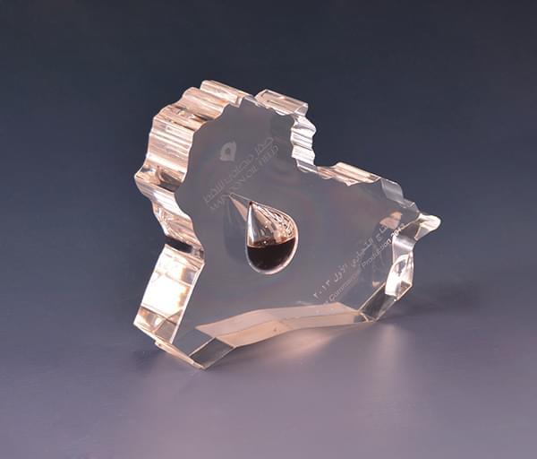 水晶胶油滴工艺品