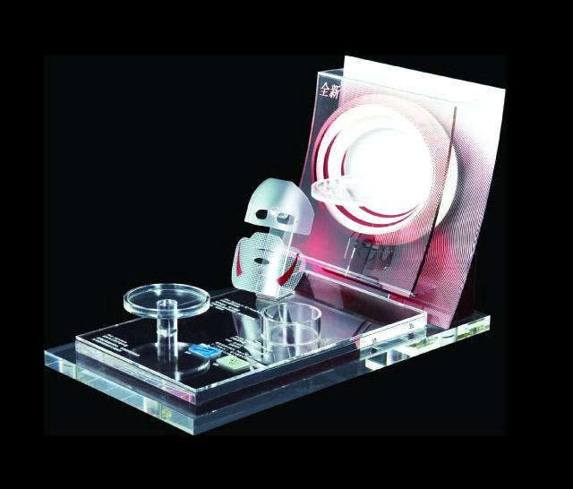 化妆品面膜展示架