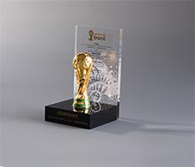 亚克力足球奖杯