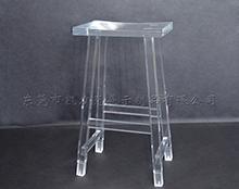 亚克力透明高脚吧台凳